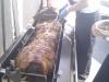Hog roast at Redditch football club