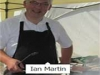 Ian Martin cooking for 200 covers