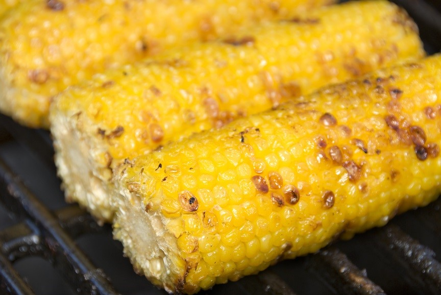 BBQ roasted Corn on the Cob