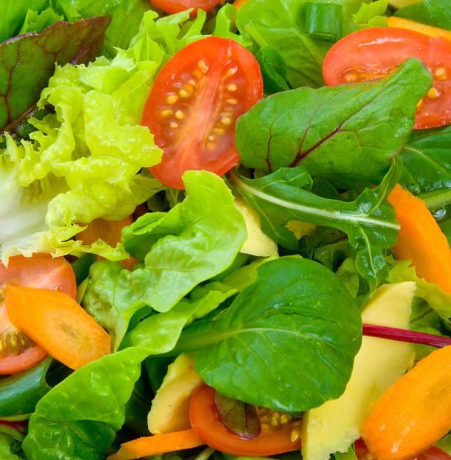 Mix leaf salad hog Roast Redditch Co