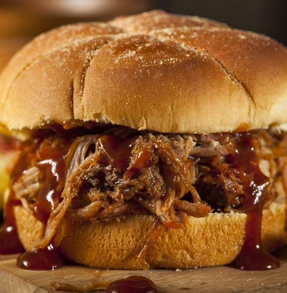 Slow roasted Brisket of beef, served on fresh rolls with horseradish or mustard.