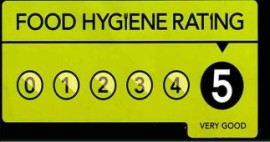 Hog Roast Redditch 5 hygiene rating